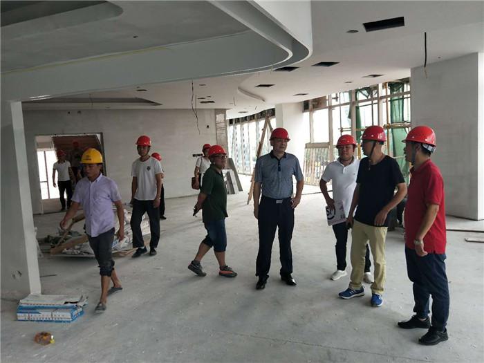 李正东董事长视察三亚国寿健康公园项目现场