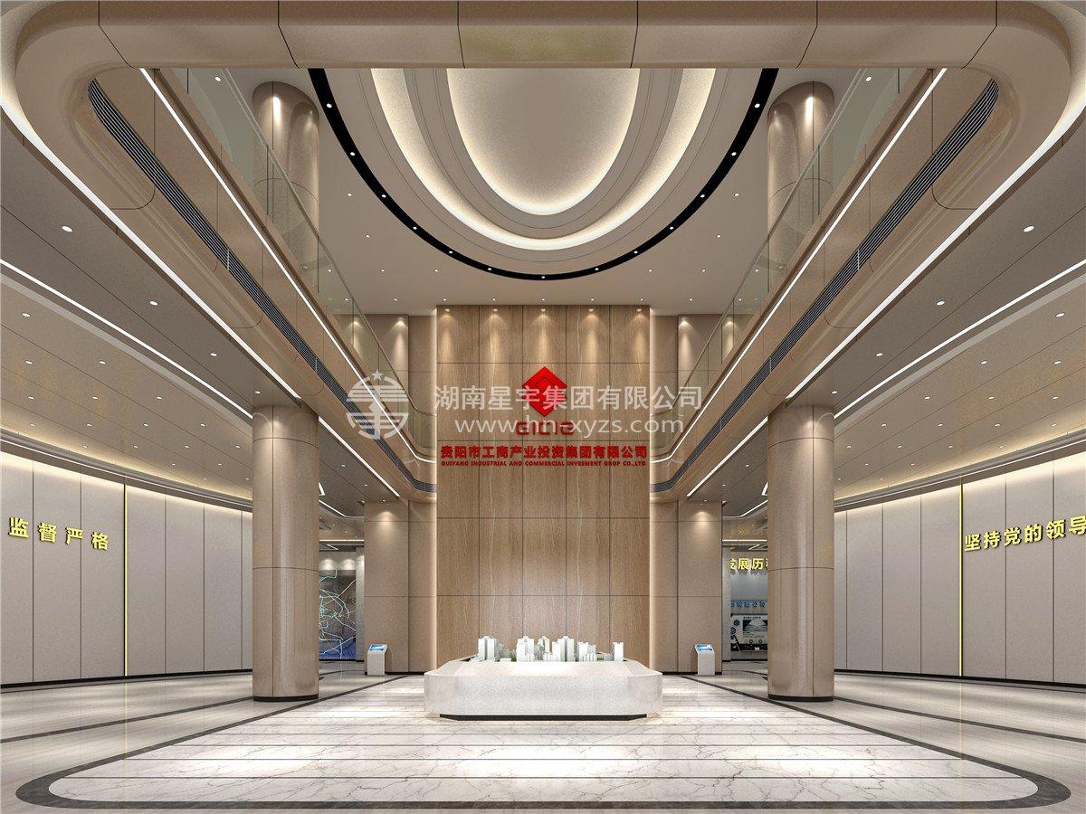 貴陽興貴橡金融城(cheng)設計施工(gong)項目